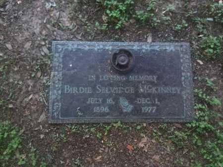 MCKINNEY, BIRDIE - Harris County, Texas | BIRDIE MCKINNEY - Texas Gravestone Photos