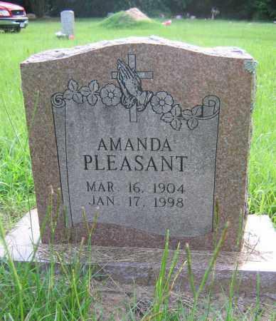 PLEASANT, AMANDA - Harris County, Texas | AMANDA PLEASANT - Texas Gravestone Photos
