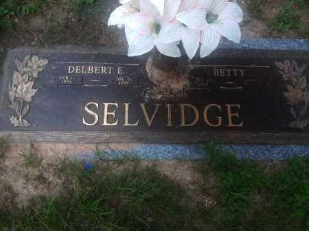 SELVIDGE, DELBERT E.  - Harris County, Texas | DELBERT E.  SELVIDGE - Texas Gravestone Photos