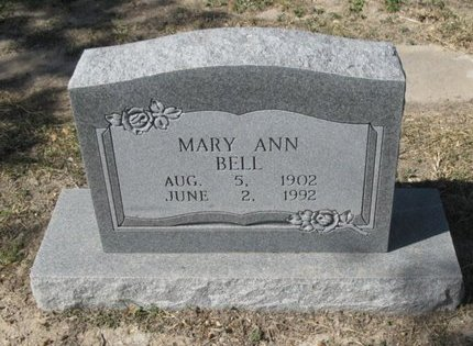 BELL, MARY ANN - Hidalgo County, Texas | MARY ANN BELL - Texas Gravestone Photos