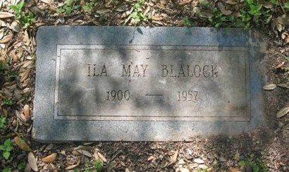 BLALOCK, ILA MAY - Hidalgo County, Texas | ILA MAY BLALOCK - Texas Gravestone Photos