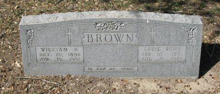 ROME BROWN, SADIE - Hidalgo County, Texas | SADIE ROME BROWN - Texas Gravestone Photos