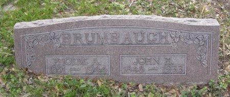 MURPHY BRUMBAUGH, PHOEBE A. - Hidalgo County, Texas | PHOEBE A. MURPHY BRUMBAUGH - Texas Gravestone Photos