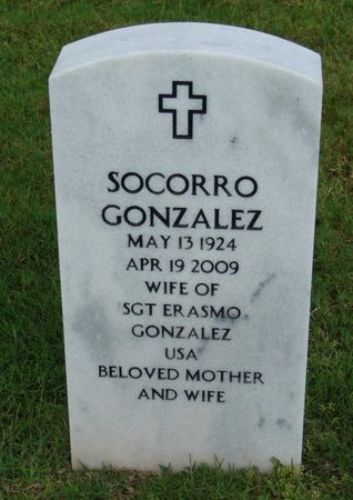 GONZALEZ, SOCORRO - Hidalgo County, Texas | SOCORRO GONZALEZ - Texas Gravestone Photos