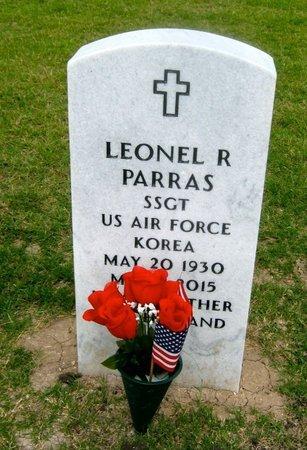 PARRAS (VETERAN KOR), LEONEL R - Hidalgo County, Texas   LEONEL R PARRAS (VETERAN KOR) - Texas Gravestone Photos