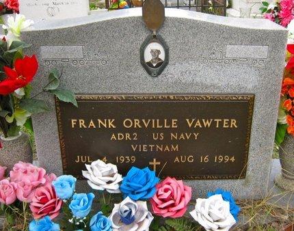 VAWTER (VETERAN VIET), FRANK ORVILLE - Hidalgo County, Texas | FRANK ORVILLE VAWTER (VETERAN VIET) - Texas Gravestone Photos