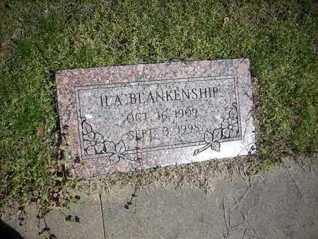BLANKENSHIP, ILA - Hunt County, Texas | ILA BLANKENSHIP - Texas Gravestone Photos