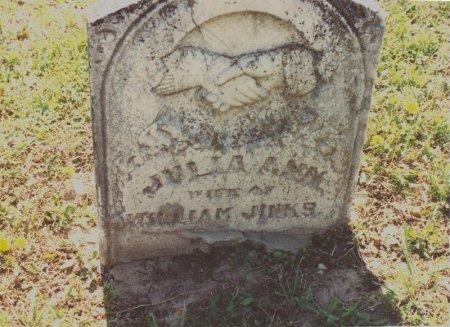 WARD JINKS, JULIA ANN - Hunt County, Texas | JULIA ANN WARD JINKS - Texas Gravestone Photos