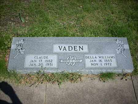 VADEN, DELLA - Hunt County, Texas | DELLA VADEN - Texas Gravestone Photos