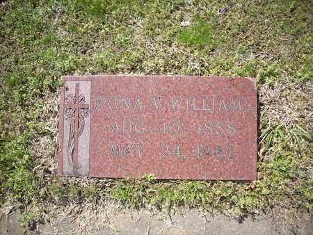 WILLIAMS, DONA V. - Hunt County, Texas   DONA V. WILLIAMS - Texas Gravestone Photos