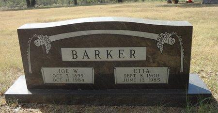 BARKER, JOE WILLIAM - Jack County, Texas | JOE WILLIAM BARKER - Texas Gravestone Photos