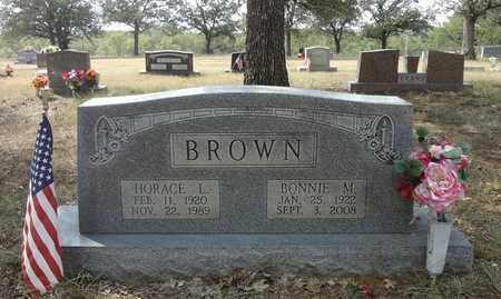 BROWN, BONNIE MOZELLE - Jack County, Texas | BONNIE MOZELLE BROWN - Texas Gravestone Photos