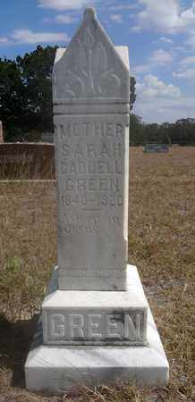 MELTON CADDELL (GREEN), SARAH - Jack County, Texas | SARAH MELTON CADDELL (GREEN) - Texas Gravestone Photos