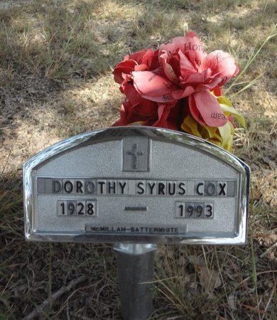COX, DOROTHY - Jack County, Texas | DOROTHY COX - Texas Gravestone Photos