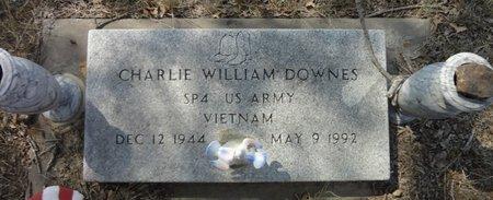 DOWNES (VETERAN VIET), CHARLIE WILLIAM - Jack County, Texas | CHARLIE WILLIAM DOWNES (VETERAN VIET) - Texas Gravestone Photos