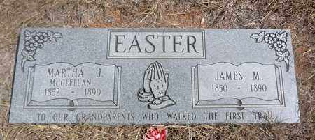 MCCLELLAN EASTER, MARTHA J - Jack County, Texas | MARTHA J MCCLELLAN EASTER - Texas Gravestone Photos