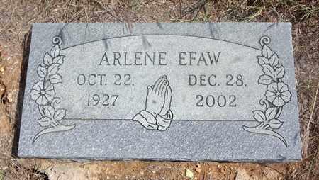 EFAW, ARLENE - Jack County, Texas | ARLENE EFAW - Texas Gravestone Photos
