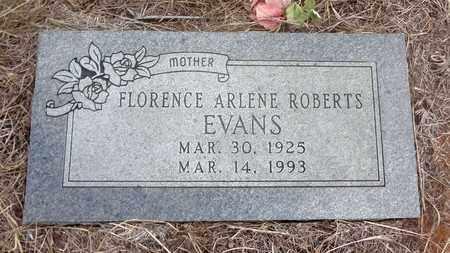 EVANS, FLORENCE ARLENE - Jack County, Texas   FLORENCE ARLENE EVANS - Texas Gravestone Photos
