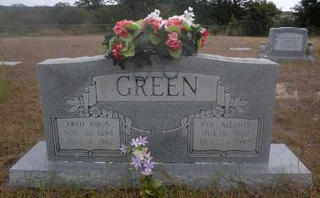 WENTWORTH GREEN, EVA ALLISON - Jack County, Texas | EVA ALLISON WENTWORTH GREEN - Texas Gravestone Photos