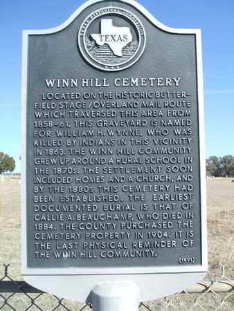 *HISTORICAL MARKER,  - Jack County, Texas    *HISTORICAL MARKER - Texas Gravestone Photos