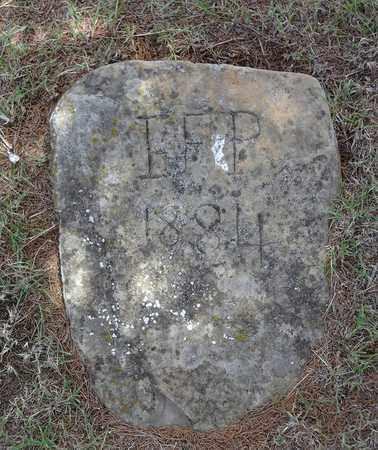 I F P, UNKNOWN - Jack County, Texas | UNKNOWN I F P - Texas Gravestone Photos