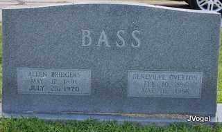 BASS, ALLEN BRIDGERS - Kaufman County, Texas | ALLEN BRIDGERS BASS - Texas Gravestone Photos