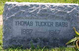 BASS, THOMAS TUCKER - Kaufman County, Texas | THOMAS TUCKER BASS - Texas Gravestone Photos