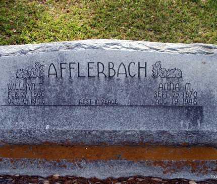 AFFLERBACH, ANNA MARIE - Lavaca County, Texas | ANNA MARIE AFFLERBACH - Texas Gravestone Photos