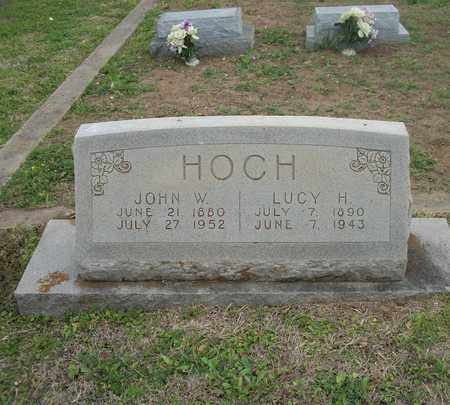 JEAGER HOCH, LUCY HENNETTA - Lavaca County, Texas | LUCY HENNETTA JEAGER HOCH - Texas Gravestone Photos