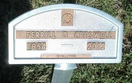 CRESWELL, FERRILL DOYCE - Lubbock County, Texas | FERRILL DOYCE CRESWELL - Texas Gravestone Photos