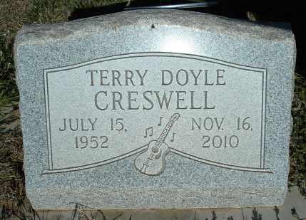 CRESWELL, TERRY DOYLE - Lubbock County, Texas | TERRY DOYLE CRESWELL - Texas Gravestone Photos