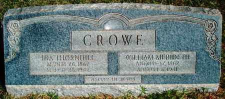 CROWE, IDA - Lubbock County, Texas | IDA CROWE - Texas Gravestone Photos