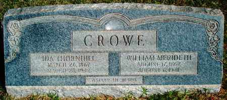 CROWE, IDA - Lubbock County, Texas | IDA CROWE - Texas Gravestone Photos