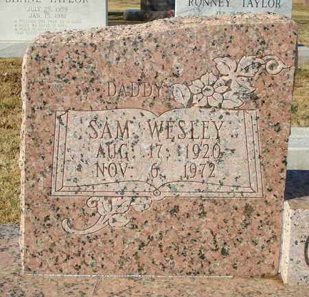 CROWSON (CLOSE UP), SAM WESLEY - Lubbock County, Texas | SAM WESLEY CROWSON (CLOSE UP) - Texas Gravestone Photos