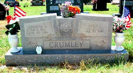 CRUMLEY, JOHNNIE RAY - Lubbock County, Texas | JOHNNIE RAY CRUMLEY - Texas Gravestone Photos