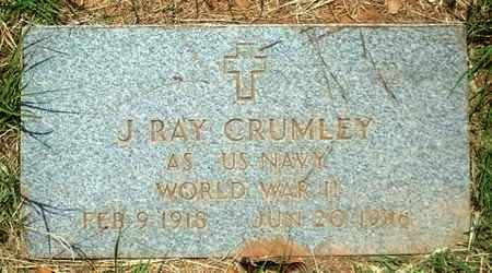 CRUMLEY (VETERAN WWII), JOHNNIE RAY - Lubbock County, Texas | JOHNNIE RAY CRUMLEY (VETERAN WWII) - Texas Gravestone Photos