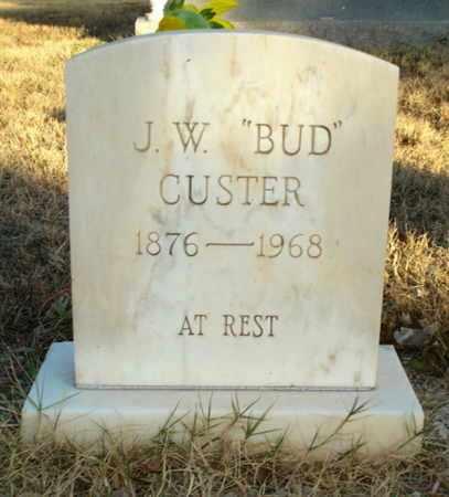 "CUSTER, JESSE WALTER ""BUD"" - Lubbock County, Texas   JESSE WALTER ""BUD"" CUSTER - Texas Gravestone Photos"