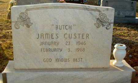 "CUSTER, JAMES WAYNE ""BUTCH"" - Lubbock County, Texas | JAMES WAYNE ""BUTCH"" CUSTER - Texas Gravestone Photos"