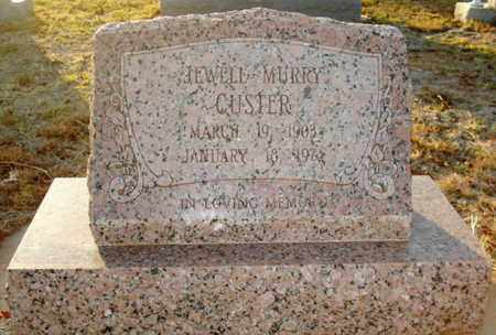 CUSTER, JEWEL - Lubbock County, Texas | JEWEL CUSTER - Texas Gravestone Photos