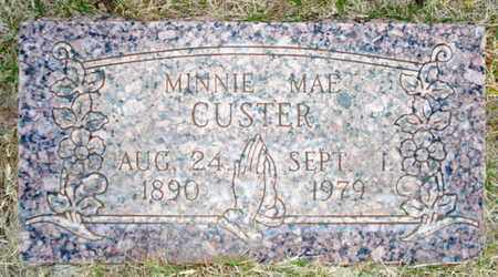 CUSTER, MINNIE MAE - Lubbock County, Texas | MINNIE MAE CUSTER - Texas Gravestone Photos