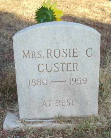 CUSTER, ROSIE C - Lubbock County, Texas | ROSIE C CUSTER - Texas Gravestone Photos