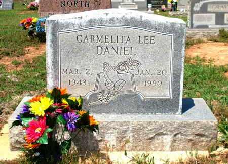 EDWARDS DANIEL, CARMELITA LEE - Lubbock County, Texas | CARMELITA LEE EDWARDS DANIEL - Texas Gravestone Photos
