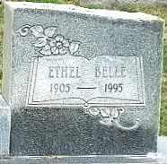 DAVIS (CLOSE UP), ETHEL BELLE - Lubbock County, Texas   ETHEL BELLE DAVIS (CLOSE UP) - Texas Gravestone Photos