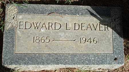 DEAVER, EDWIN EDWARD LEAON - Lubbock County, Texas   EDWIN EDWARD LEAON DEAVER - Texas Gravestone Photos