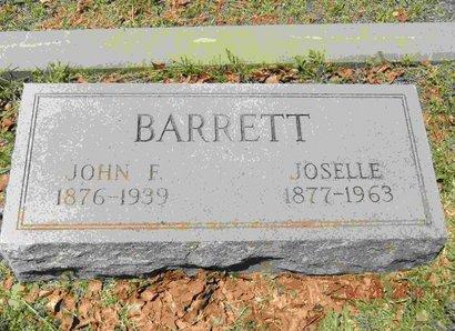 BARRETT, JOSELLE - Mason County, Texas | JOSELLE BARRETT - Texas Gravestone Photos