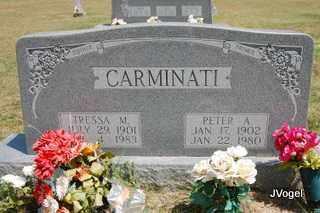 CARMINATI, PETER A - Montague County, Texas   PETER A CARMINATI - Texas Gravestone Photos