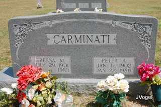 CARMINATI, TRESSA M - Montague County, Texas | TRESSA M CARMINATI - Texas Gravestone Photos