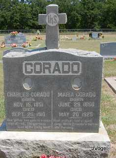 CORADO, CHARLES - Montague County, Texas | CHARLES CORADO - Texas Gravestone Photos