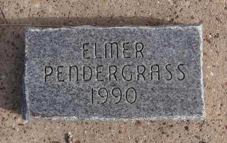PENDERGRASS, ELMER - Montague County, Texas | ELMER PENDERGRASS - Texas Gravestone Photos