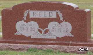 MASSIE REED, OMA DELL - Montague County, Texas | OMA DELL MASSIE REED - Texas Gravestone Photos